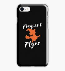Frequent Flyer Funny Halloween iPhone Case/Skin
