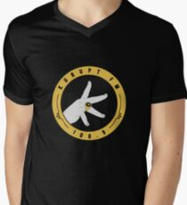 Kurupt Fm Logo Merchandise Men's V-Neck T-Shirt