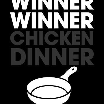 PUBG Winner Winner Chicken Dinner by fromherotozero