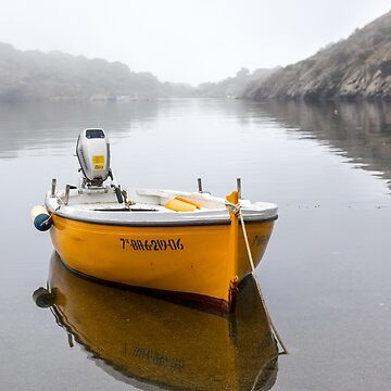 Yellow Boat by Tonywallbank