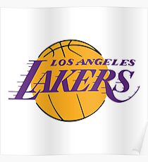 los angeles lakers logo Poster