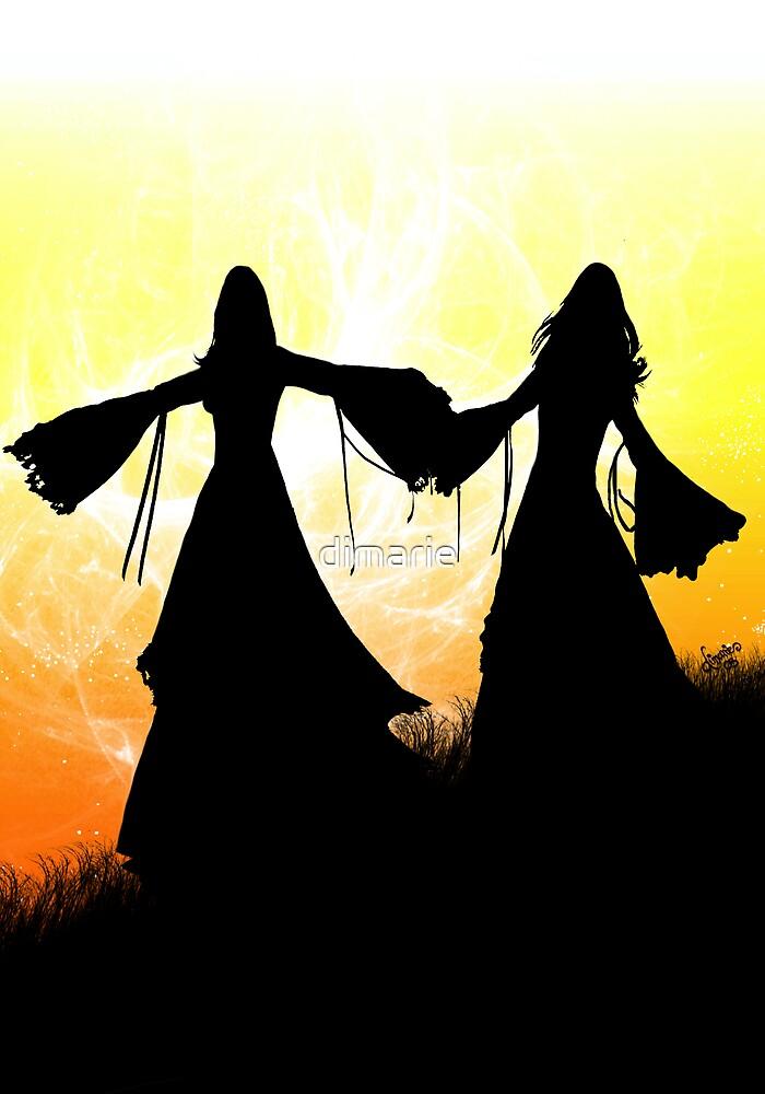 Sisters by dimarie