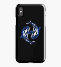 A Pod Of Orca Killer Whales Ocean Tribal Mandala iPhone Case/Skin