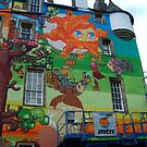 Kelburn Castle Graffiti Project - Another Angle by biddumy