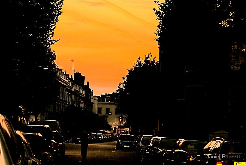 Sunset near home by Daniel Barnett