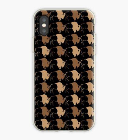 Buffalo Run iPhone Case