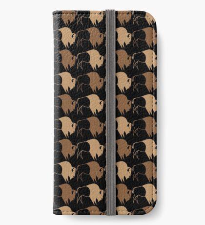 Buffalo Run iPhone Wallet