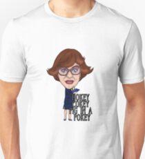 Pauline The League of Gentlemen Inspired Illustration. Hokey Cokey Pig in a Pokey T-Shirt