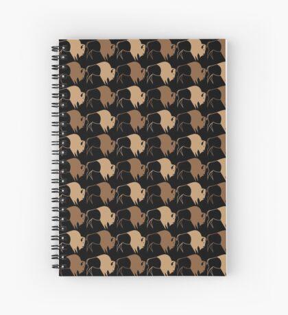 Buffalo Run Spiral Notebook