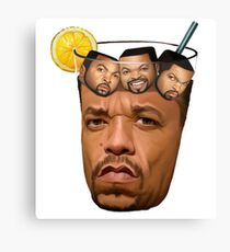 ice cube - funny comedy Canvas Print