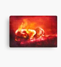 Born From Fire Canvas Print
