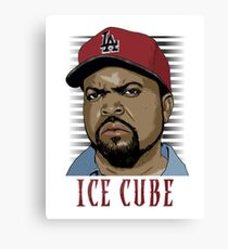 ice cube - awesome comedy Canvas Print