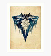 League of Legends FRELJORD CREST Art Print