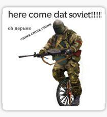 Soviet Boi Sticker