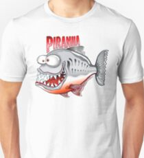 Happy Fish - Piranha T-Shirt