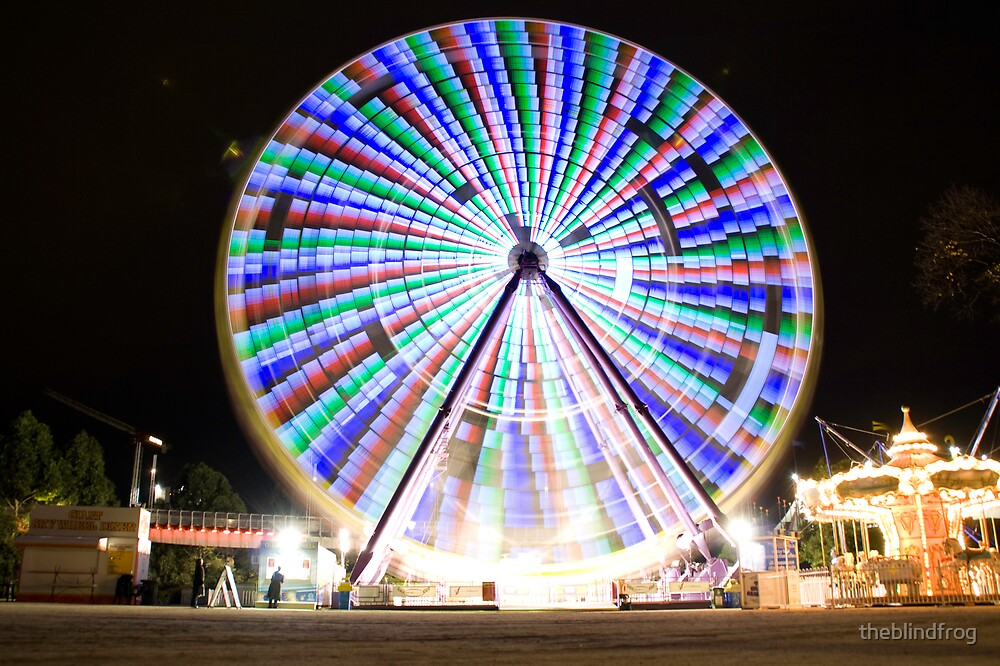 Ferris Wheel - 1 by theblindfrog