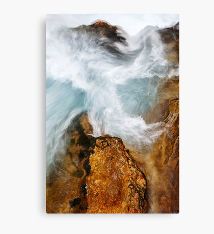 The Soteska Vintgar gorge in Autumn Canvas Print