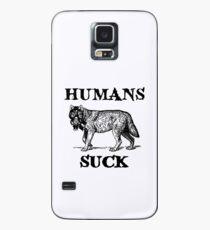 Humans Suck Case/Skin for Samsung Galaxy