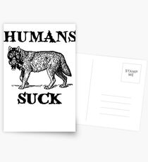 Humans Suck Postcards