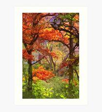 Autumnal View Art Print