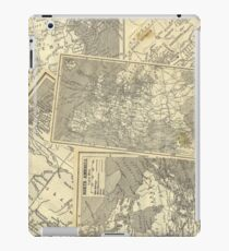 Vintage Maps (Fawn) iPad Case/Skin