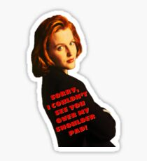 Shoulder Pads Sticker