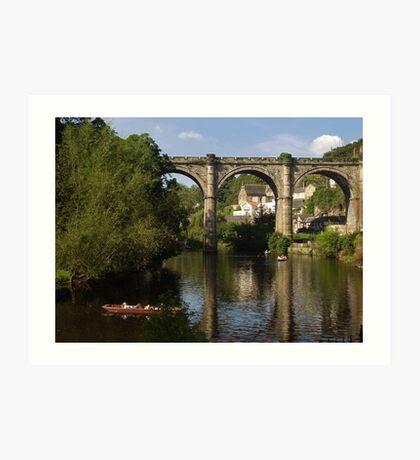 The Bridge, Knaresborough, England Art Print