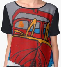Red Boat  Women's Chiffon Top
