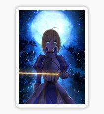 Moonlight Artoria - Fate Sticker