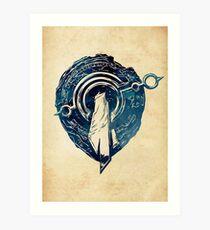 League of Legends MOUNT TARGON CREST Art Print