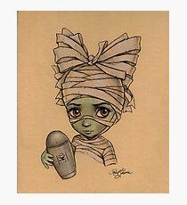 Baby Mummy Photographic Print