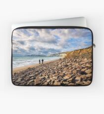 Compton Bay Beach Isle Of Wight Laptop Sleeve