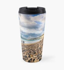 Compton Bay Beach Isle Of Wight Travel Mug