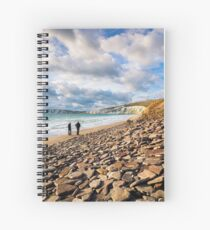 Compton Bay Beach Isle Of Wight Spiral Notebook