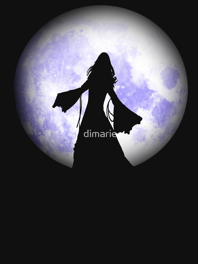 Moonlight Dancing Tee by dimarie