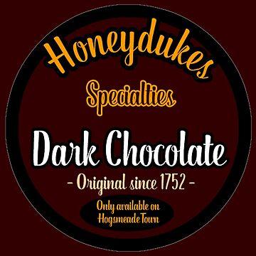 Honeydukes Chocolate - Dark Version by LadyLarousse