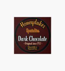 Honeydukes Chocolate - Dark Version Art Board