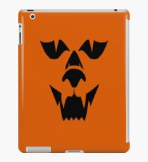 Black Wolf Head Halloween iPad Case/Skin