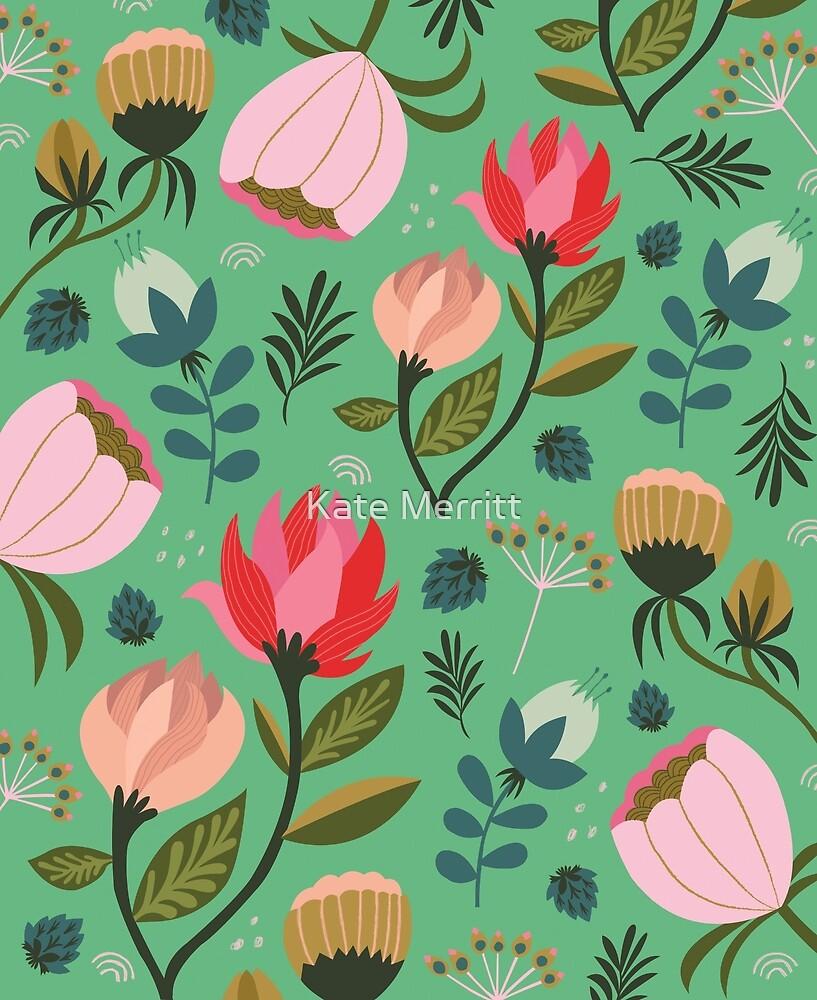 Pretty Florals by KateMerrittshop