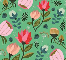 Pretty Florals by KateMerrittshop