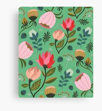 Pretty Florals Canvas Print
