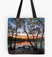 Firestone Copse Sunset Tote Bag