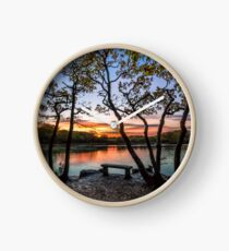 Firestone Copse Sunset Clock