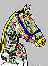 Horse- Paint Horse  by Juhan Rodrik