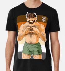 ADAM ICH LIEBE DICH - BEAR PRIDE Premium T-Shirt