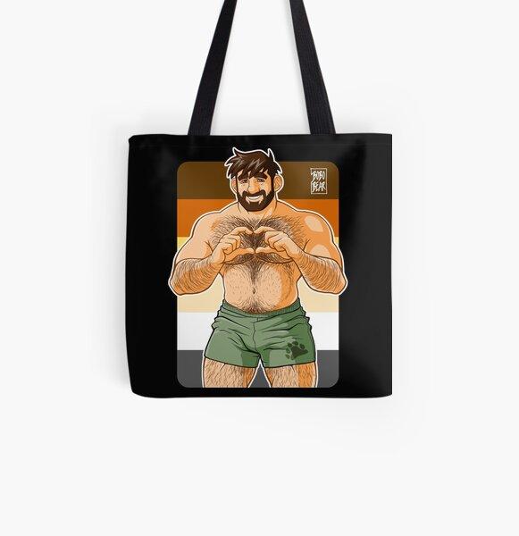 ADAM I LOVE YOU - BEAR PRIDE All Over Print Tote Bag