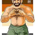ADAM I LOVE YOU - BEAR PRIDE by bobobear