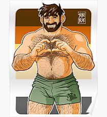 ADAM I LOVE YOU - BEAR PRIDE Poster