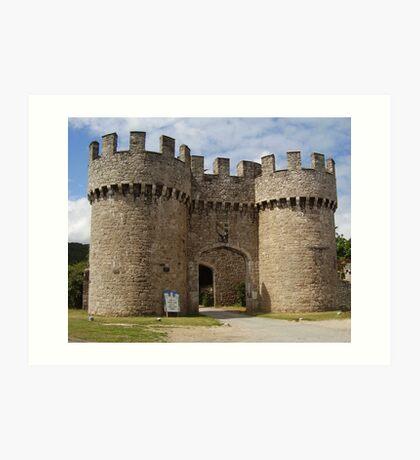 The Castle, Wales Art Print