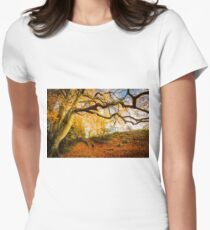Autumns Golden Colours Women's Fitted T-Shirt